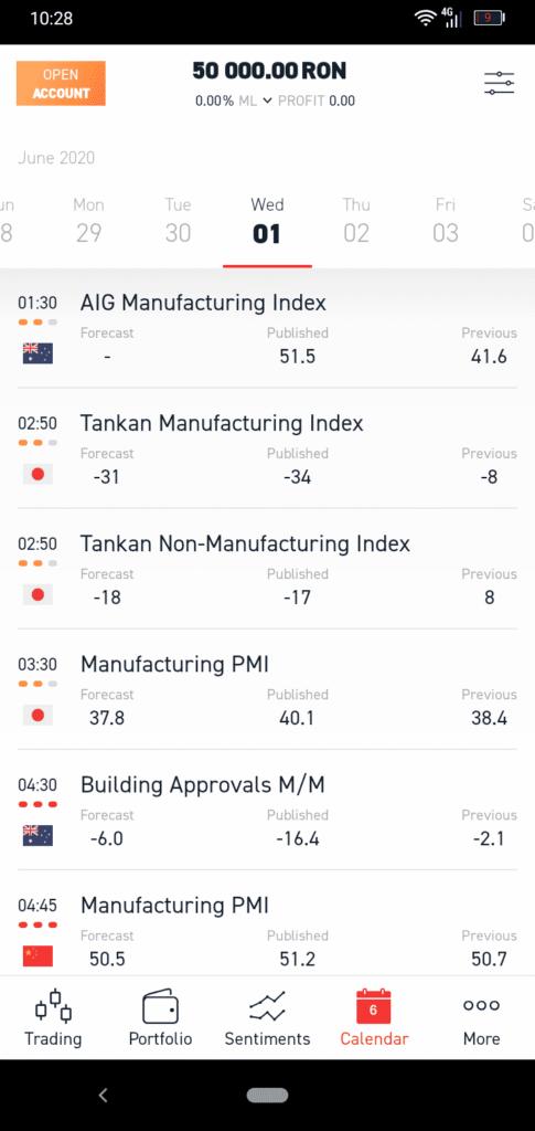 XTB Mobile App Screenshot 5